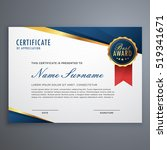 creative certificate of