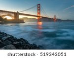 golden gate bridge in the best... | Shutterstock . vector #519343051
