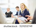 business discussing a strategy... | Shutterstock . vector #519353749