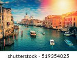 Grand Canal In Venice  Italy....