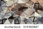 abstract pattern consisting of... | Shutterstock .eps vector #519383887