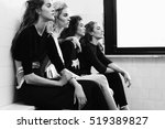 girl posing for a fashion... | Shutterstock . vector #519389827