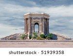 water tower in peyrou garden ... | Shutterstock . vector #51939358