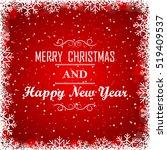 christmas background | Shutterstock .eps vector #519409537