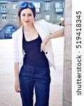 business woman   Shutterstock . vector #519418345