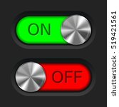 toggle slider. on and off. user ...