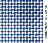 blue check plaid seamless... | Shutterstock .eps vector #519435781
