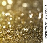 christmas background with gold...   Shutterstock . vector #519446815