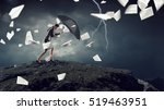 overcoming challenges and... | Shutterstock . vector #519463951