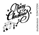 christmas banners. merry... | Shutterstock .eps vector #519472504