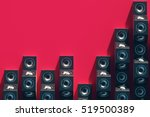 stylish equalizer from the... | Shutterstock . vector #519500389