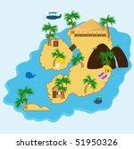 island getaway | Shutterstock . vector #51950326
