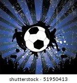 football poster | Shutterstock .eps vector #51950413