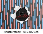 black friday  card for sale... | Shutterstock .eps vector #519507925
