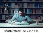 smart confident young man... | Shutterstock . vector #519514441