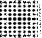 abstract seamless halftone... | Shutterstock .eps vector #519520675
