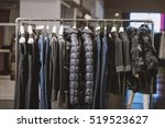 clothing store appearance | Shutterstock . vector #519523627
