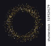 Circle Of Gold Dust With Lot O...