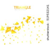 Abstract Triangle Background....