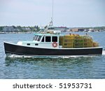 Commercial Fishing Boat ...