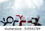 merry christmas and happy new... | Shutterstock . vector #519541789