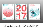 annual report 2017  template... | Shutterstock .eps vector #519550249