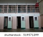 prisoners cells  | Shutterstock . vector #519571399