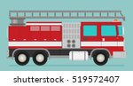 fire truck rescue engine...   Shutterstock .eps vector #519572407