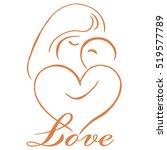 parenting logo template vector | Shutterstock .eps vector #519577789