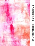 watercolor abstract red... | Shutterstock . vector #519580921