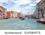 view of grand canal with...   Shutterstock . vector #519584575