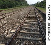 railroad | Shutterstock . vector #519586789