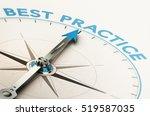 3d illustration of a compass...   Shutterstock . vector #519587035