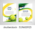 tennis ball championship or... | Shutterstock .eps vector #519603925