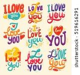 lettering made for postcard ...   Shutterstock .eps vector #519616291