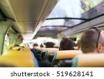 view from inside the bus with... | Shutterstock . vector #519628141