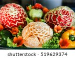 Carved Watermelon Fruit