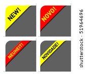 new corners. easily editable... | Shutterstock .eps vector #51964696