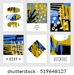 a set of six hand drawn...   Shutterstock .eps vector #519648127
