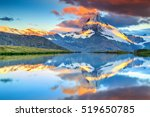 Magical Sunrise Panorama With...