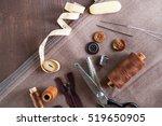 scissor  buttons  zip  tape...   Shutterstock . vector #519650905