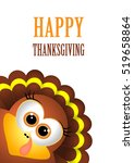 card for thanksgiving day.... | Shutterstock . vector #519658864