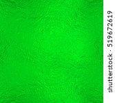 bright green foil texture... | Shutterstock . vector #519672619