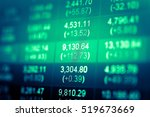 investment growth concept with... | Shutterstock . vector #519673669