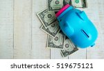 saving for retirement  saving... | Shutterstock . vector #519675121