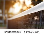 tennis net with bokeh nature in ...   Shutterstock . vector #519692134