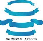 blue banners | Shutterstock . vector #5197075