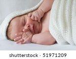 sleepy baby | Shutterstock . vector #51971209