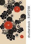 decorative floral background ... | Shutterstock .eps vector #5197258