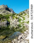 mountains and lakes  tatra... | Shutterstock . vector #519725989